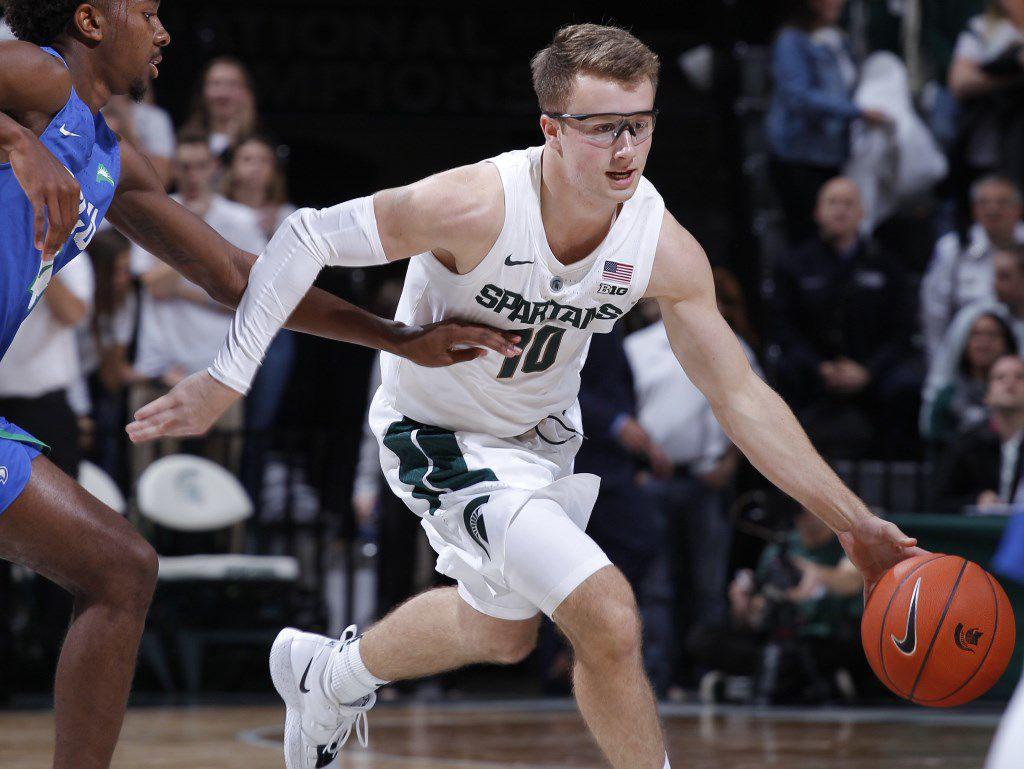 Jack Hoiberg Michigan State Spartans Final Four Basketball Jersey - Green