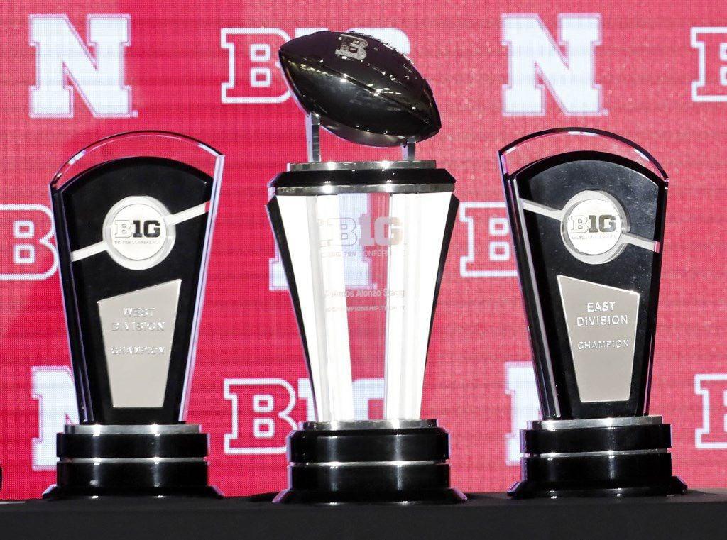 Big Ten trophies