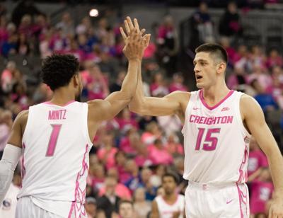 Creighton's Martin Krampelj and Davion Mintz eager for feedback on NBA chances