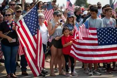 Thousands line Omaha streets to honor Marine Cpl. Daegan Page