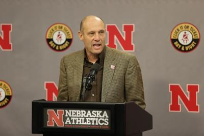 Nebraska coach Mike Riley