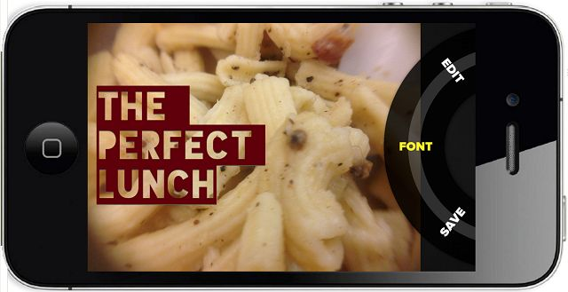 iPhone app lets you add snazzy fonts to your photos