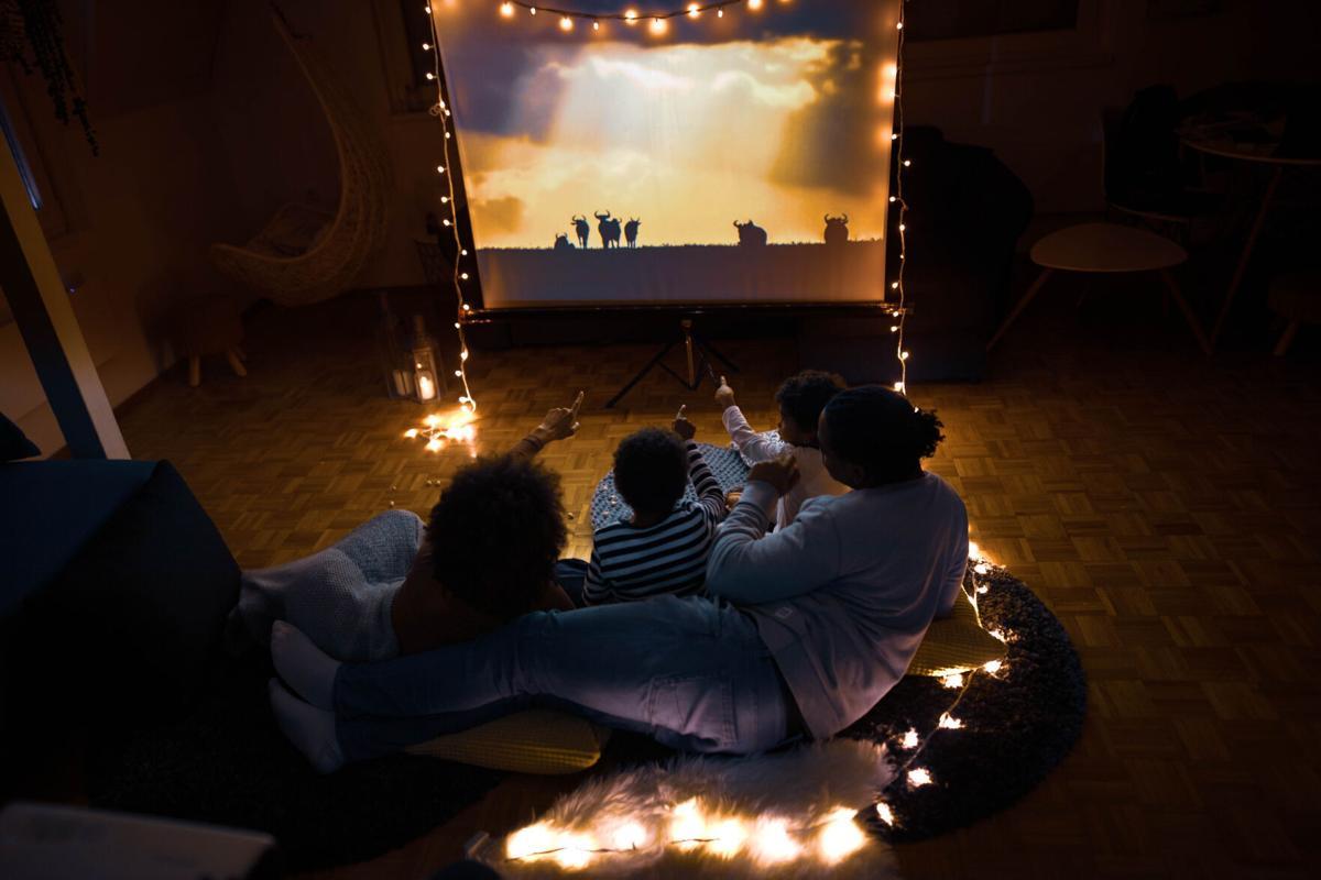 Movie night at home!