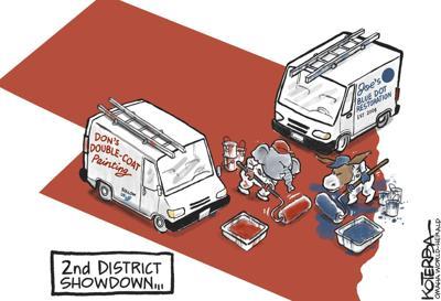 Jeff Koterba's latest cartoon: Paint off
