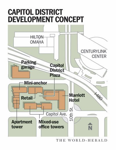 10th, Capitol map-Capitol district project