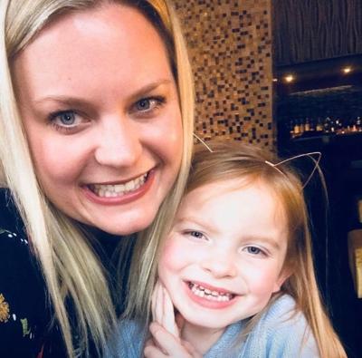 Sara Steiner and daughter Zooey