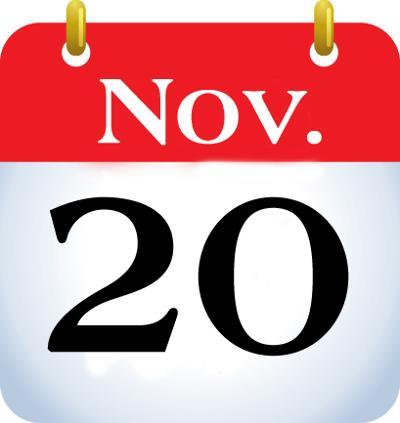 Happenings for Nov. 20