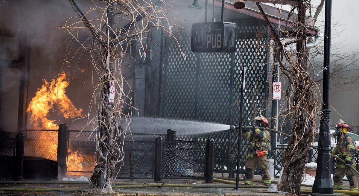 M's Pub fire: Saturday
