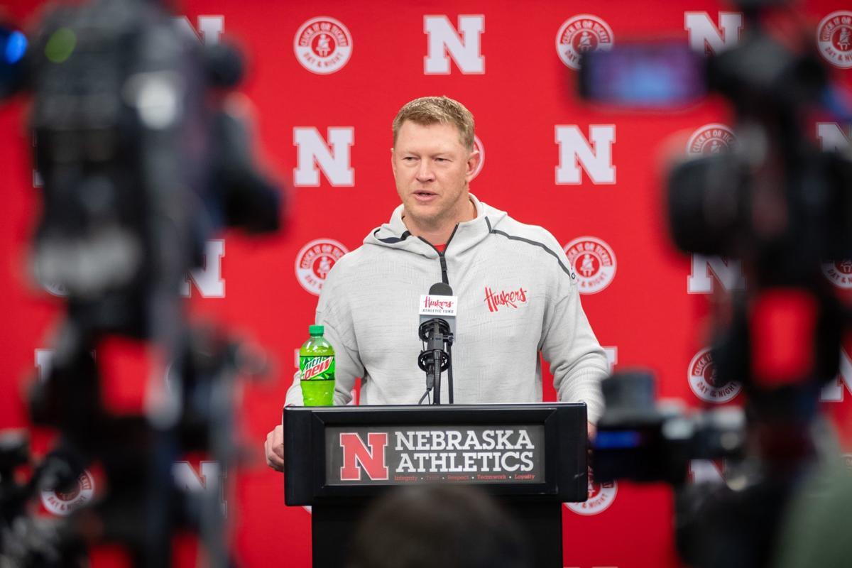Photos: 2019 Nebraska football spring press conference ...