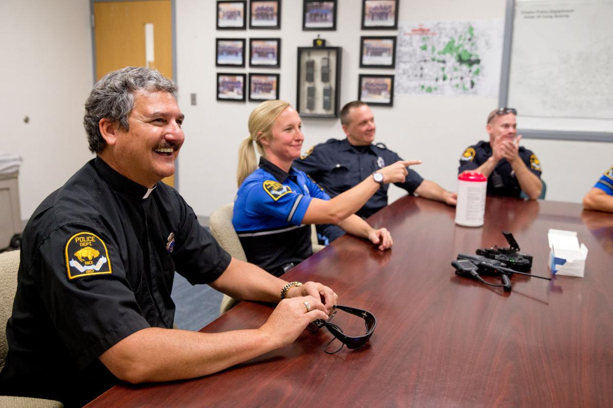 Omaha Police Chaplain - table