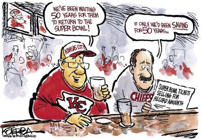 Jeff Koterba's latest cartoon: Chief concern