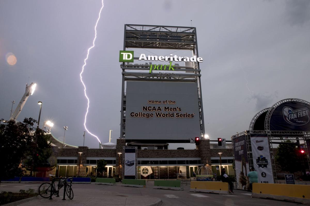 Photos: College World Series vs  the weather | CWS | omaha com