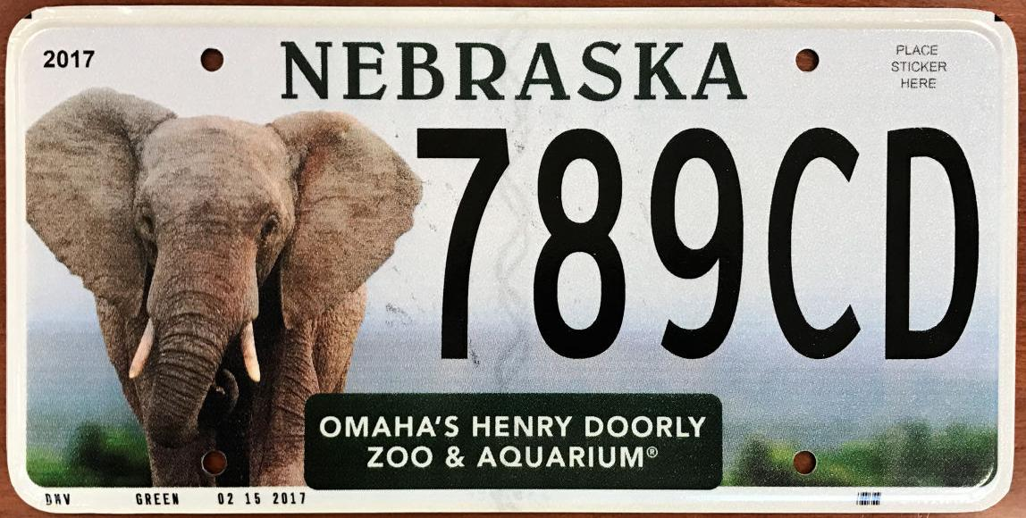 omaha zoo gets its own specialty license plate | henry doorly zoo