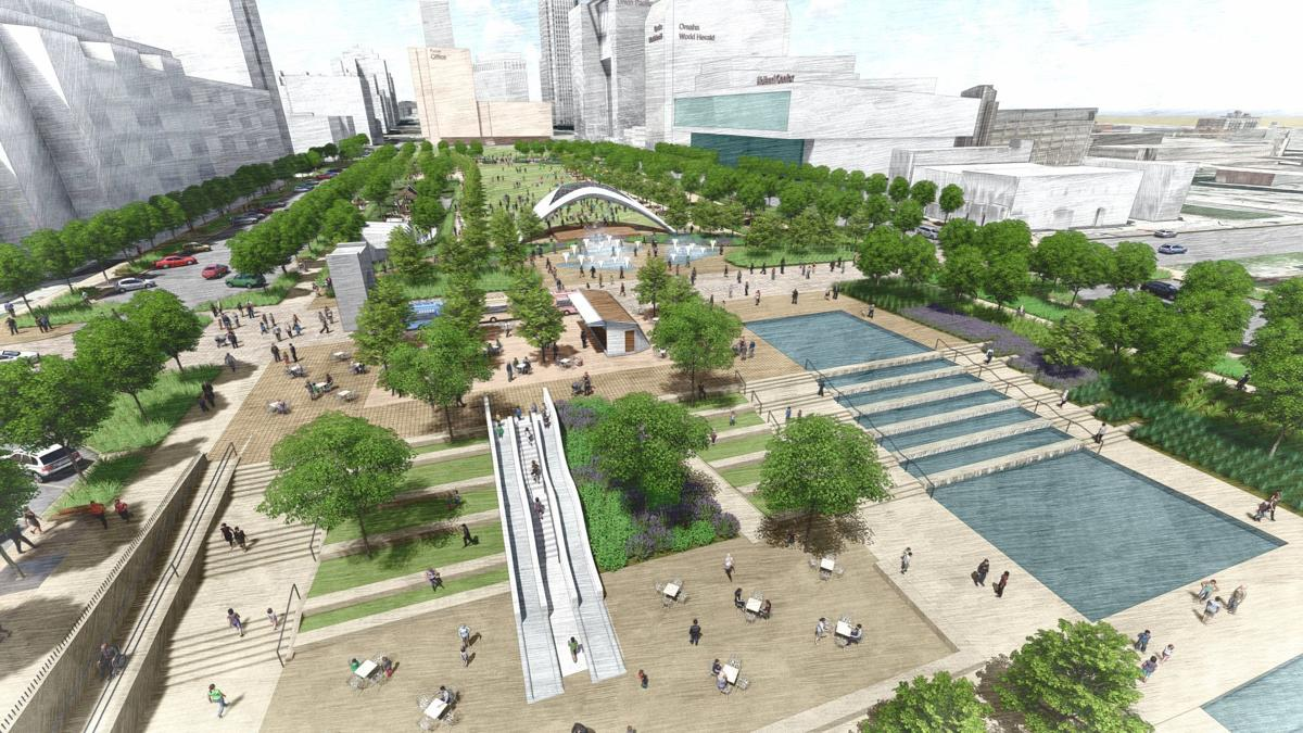 Omaha Says Goodbye To Old Gene Leahy Mall As Construction Set To