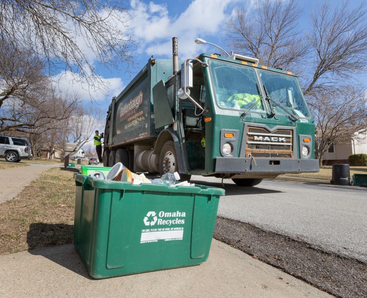 Omaha trash and recycling