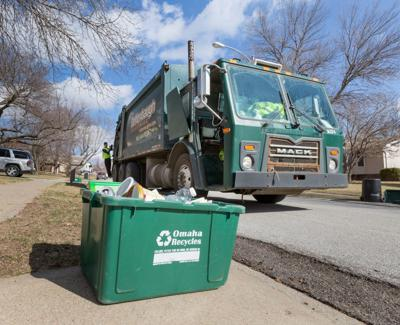 Omaha trash and recycling