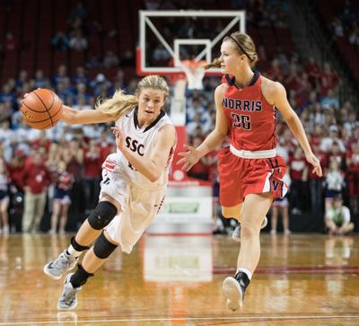 'Fighter from day one' — cancer survivor McKenna Sims now stars for state-bound South Sioux City