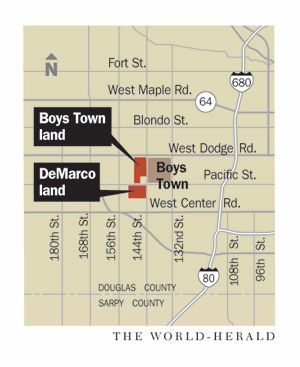 applied underwriters, part of berkshire hathaway, is company  boys town land map