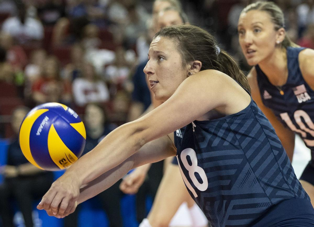Lincoln draws praise from USA volleyball coach, but team will need to bounce back after Brazil loss