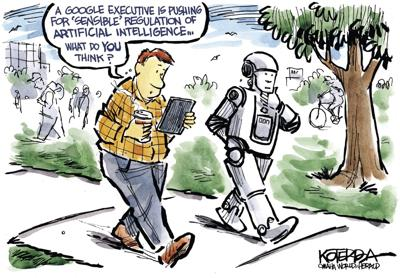 Jeff Koterba's latest cartoon: Or ask Alexa