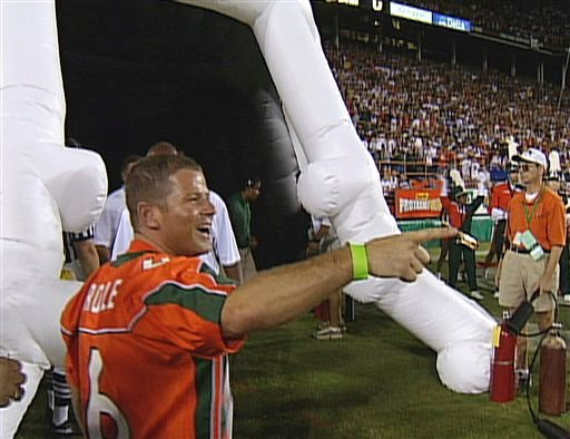 Column: Party time again at University of Miami
