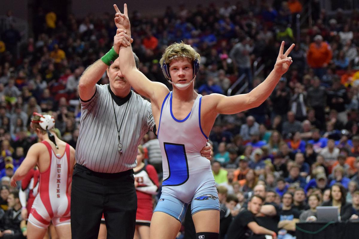 Underwood's Thomsen getting used to winning state