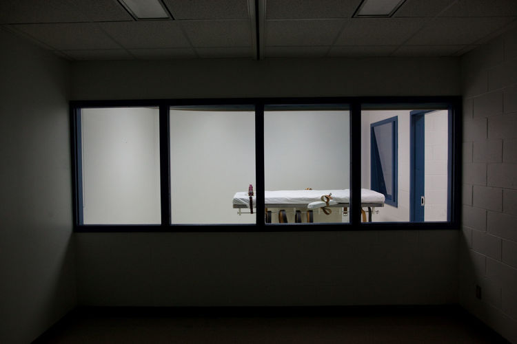 Lethal injection execution room (copy)
