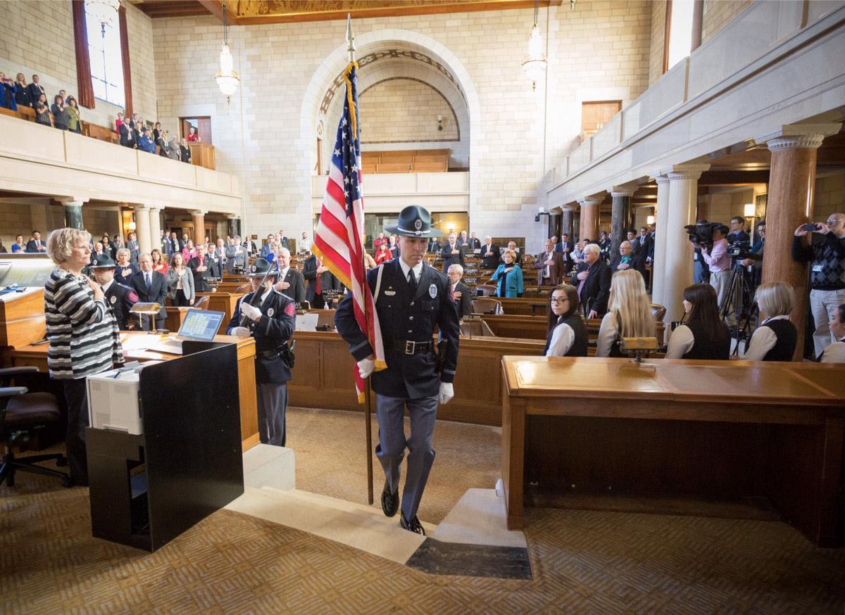 Nebraska Legislature opening day 2018
