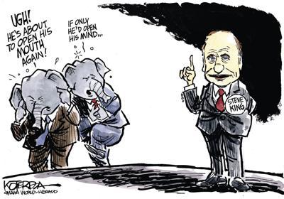 Jeff Koterba's latest cartoon: Here we go again