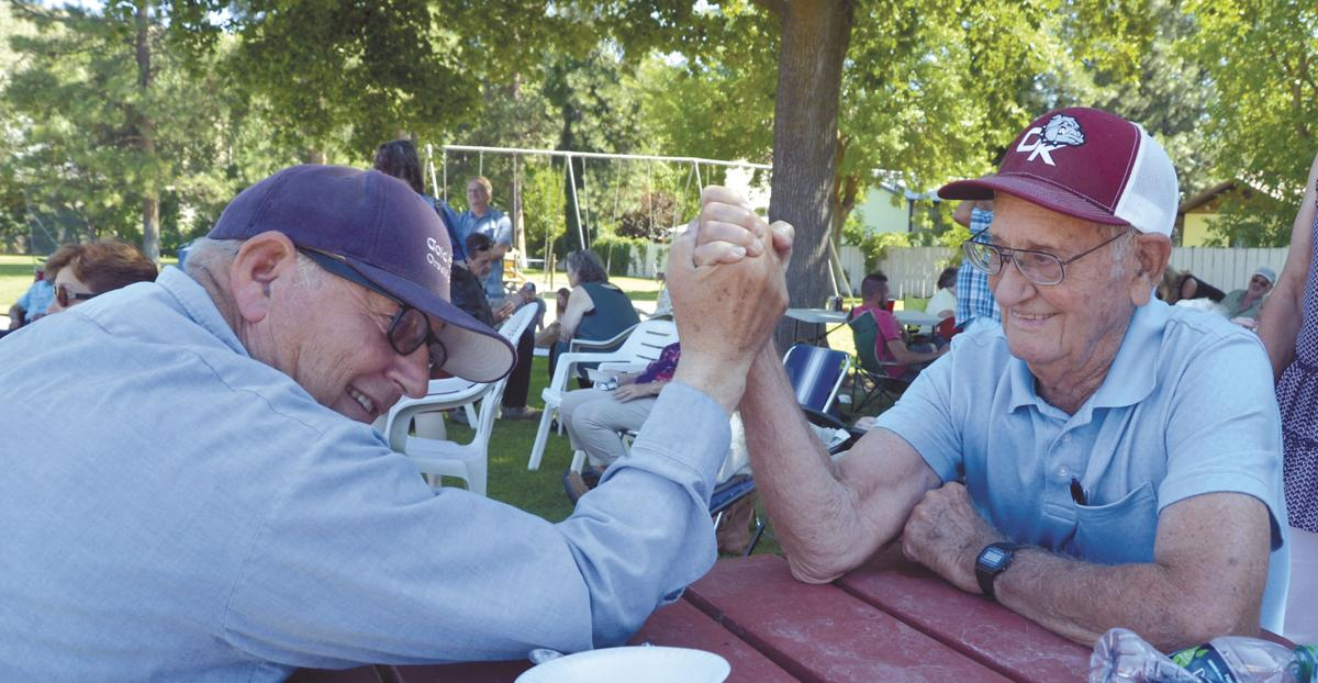 Lots Turnout For Pocks 90th Birthday Party