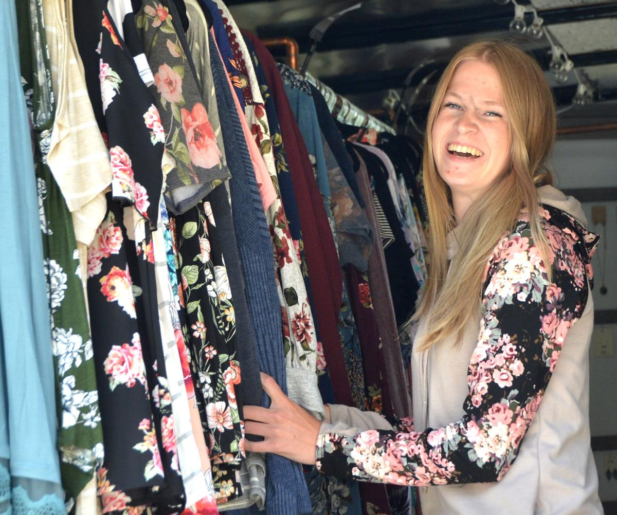 Jodi Nelson and her business Rusty Wire Boutique