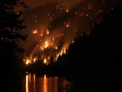 Entire county under general fire evacuation alert