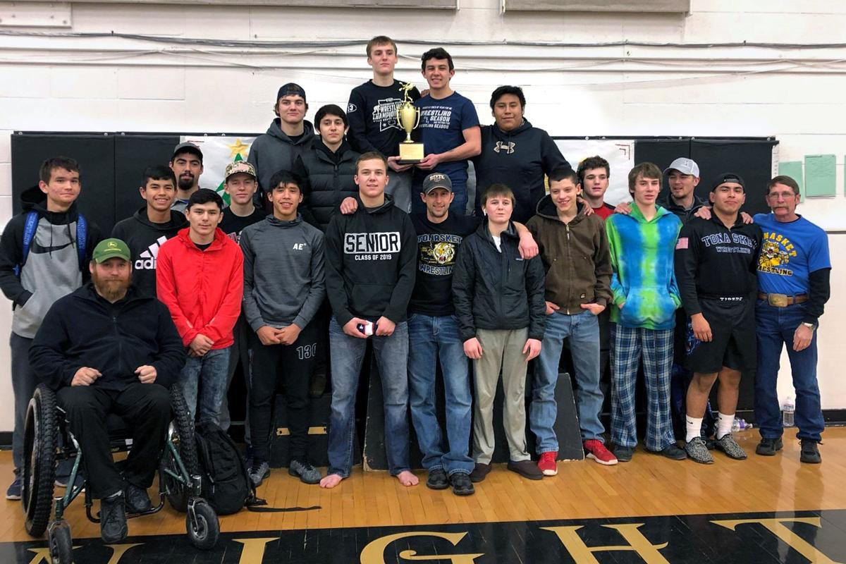 Wrestling: Tonasket hoists Royal trophy
