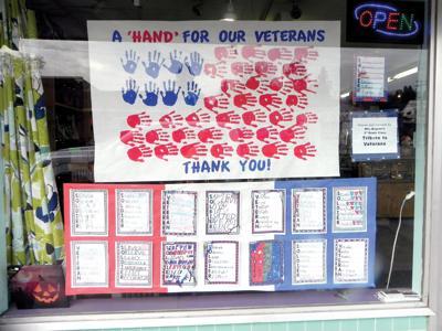 Elementary students honor veterans