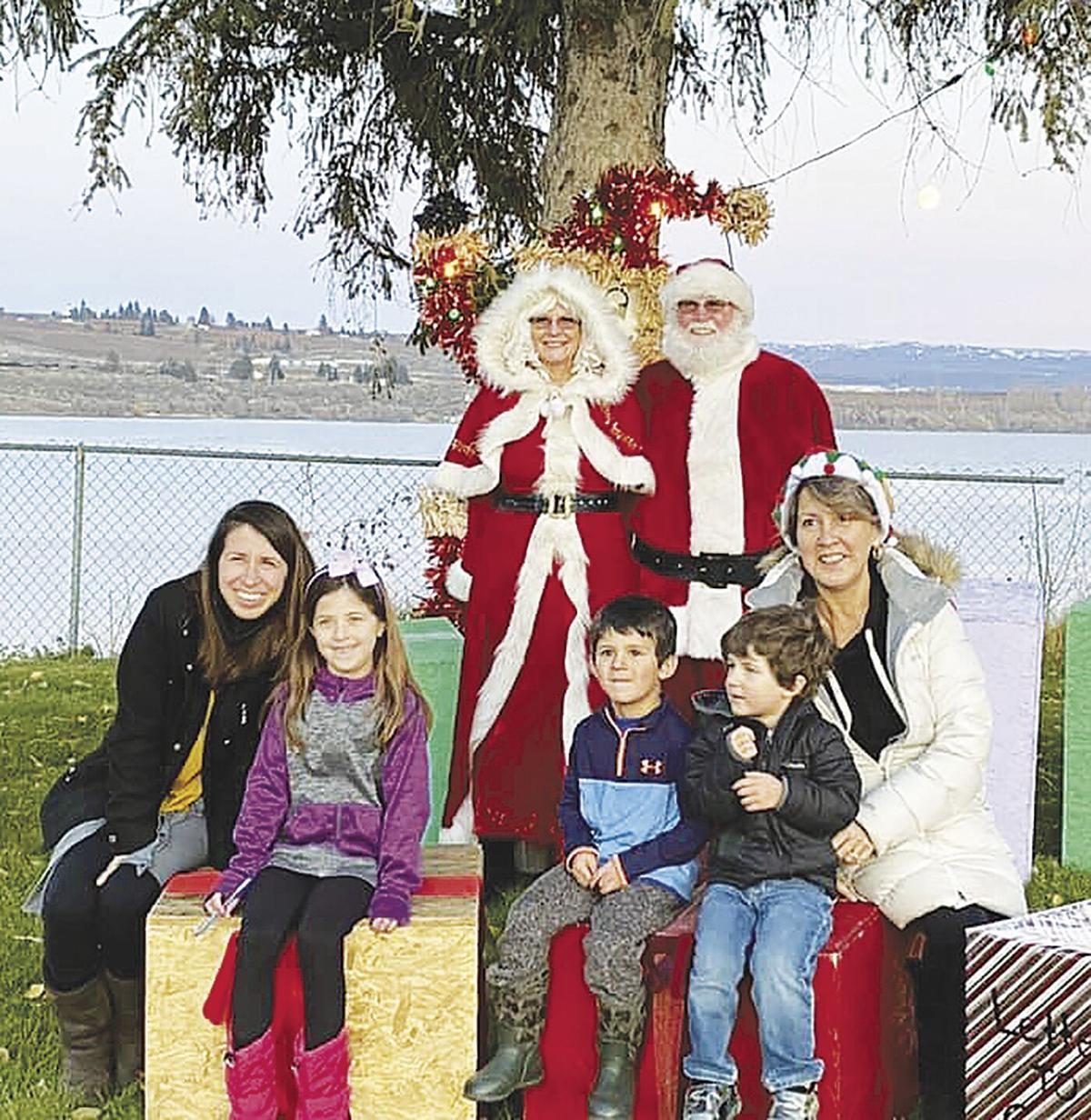 Santa visits Brewster