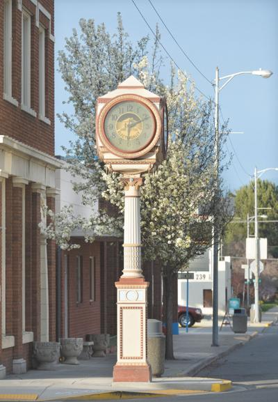 Okanogan clock