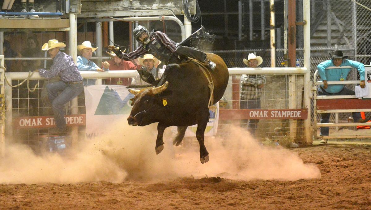 Colby Demo on bull