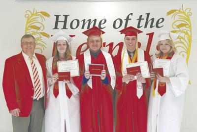 Mansfield High School announces awards, scholarships