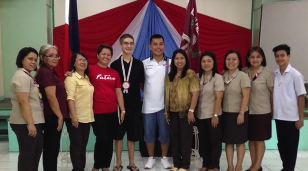 Pateros teen studies in The Philippines