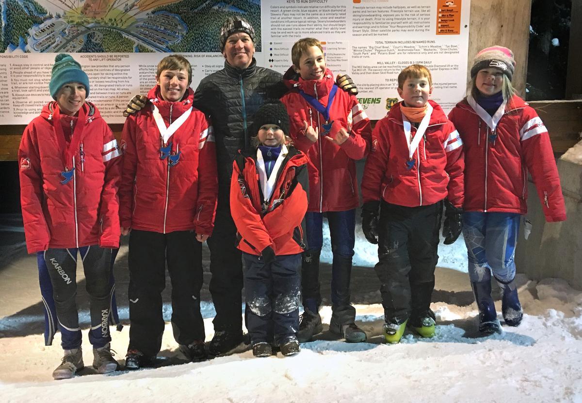 Loup Loup Alpine Ski Team at Wild Katz races