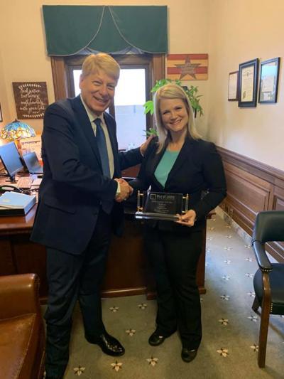 Jacquelin Maycumber named Legislator of the Year