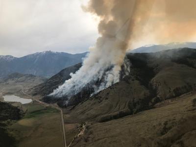 Osoyoos wildfire