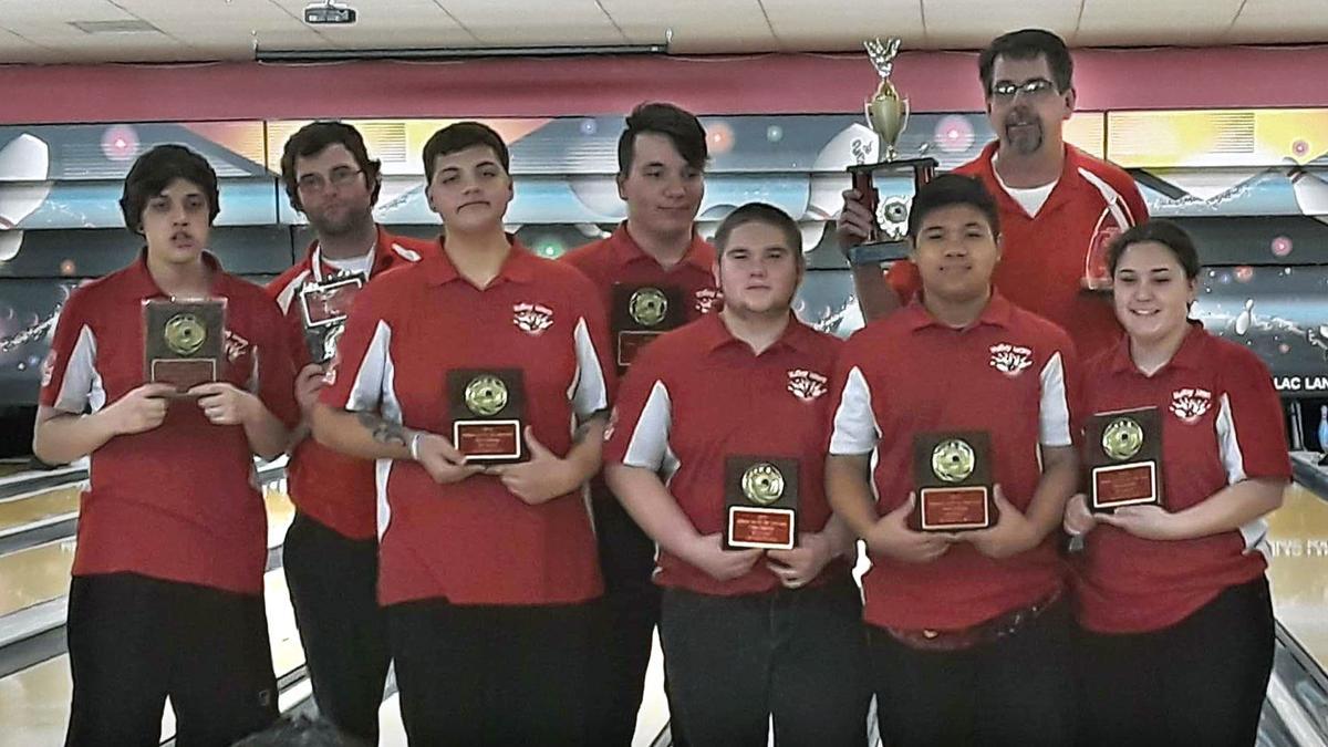 2019 Omak state bowling team