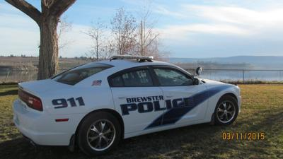 Brewster police car
