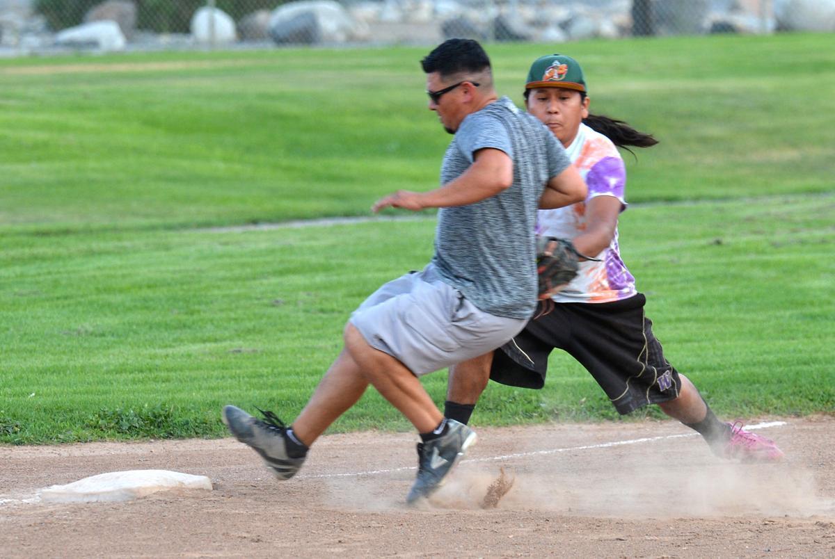Close play at third base