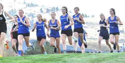 Tonasket girls' cross country team