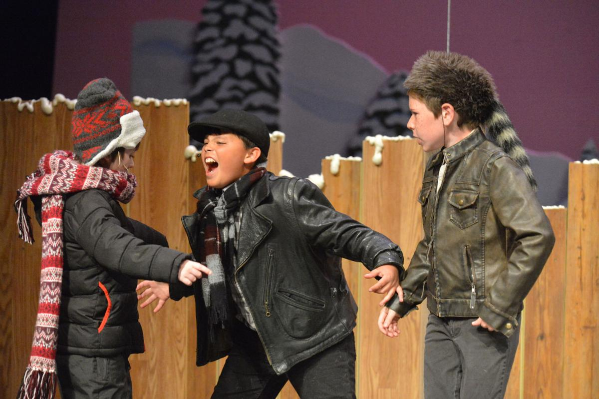 Bully In Christmas Story.A Christmas Story The Musical Lifestyle Omakchronicle Com