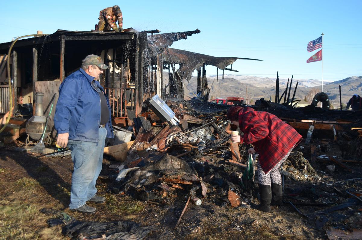 Oroville home destroyed by fire