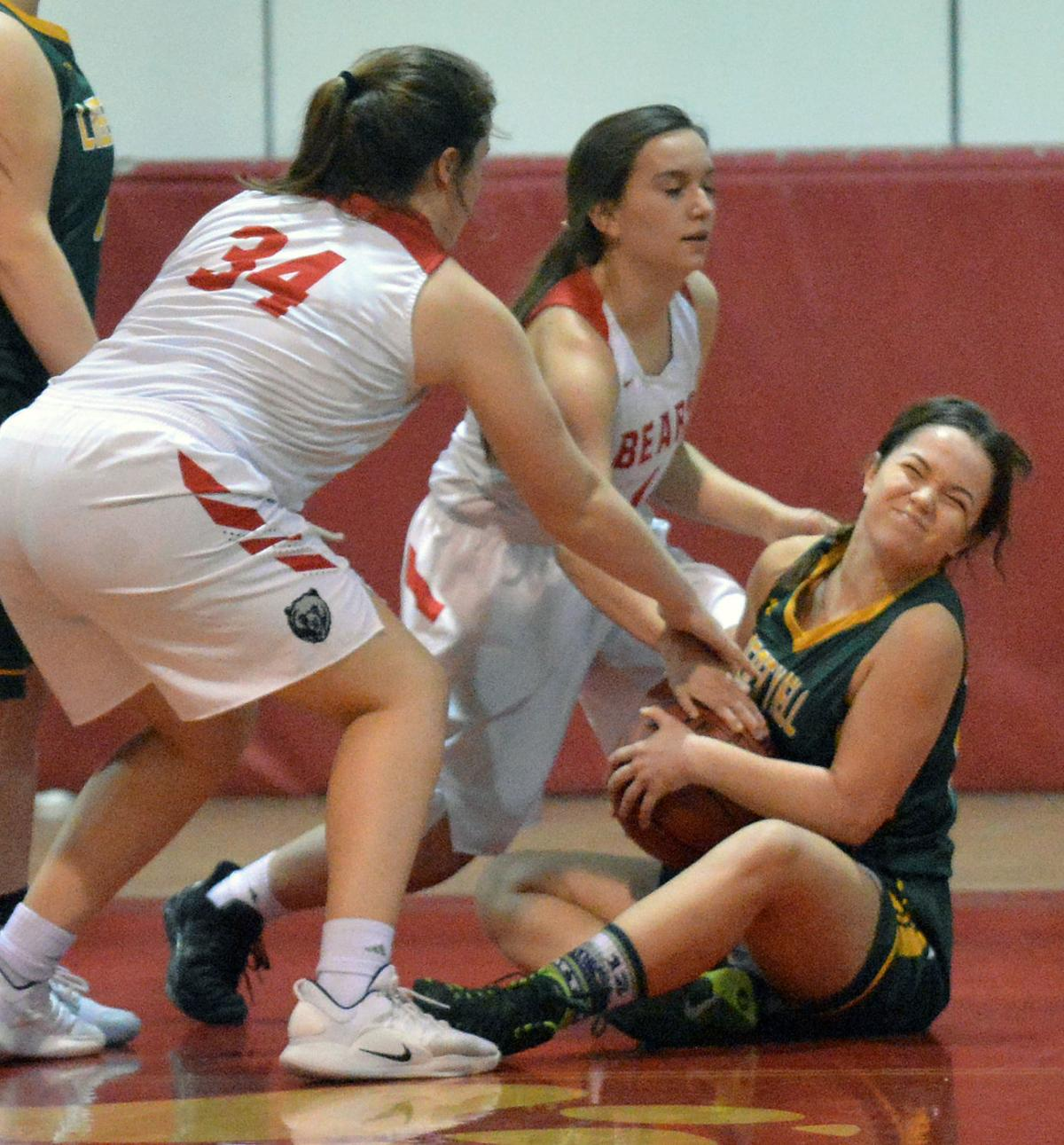 Girls' basketball: Liberty girls shock Brewster