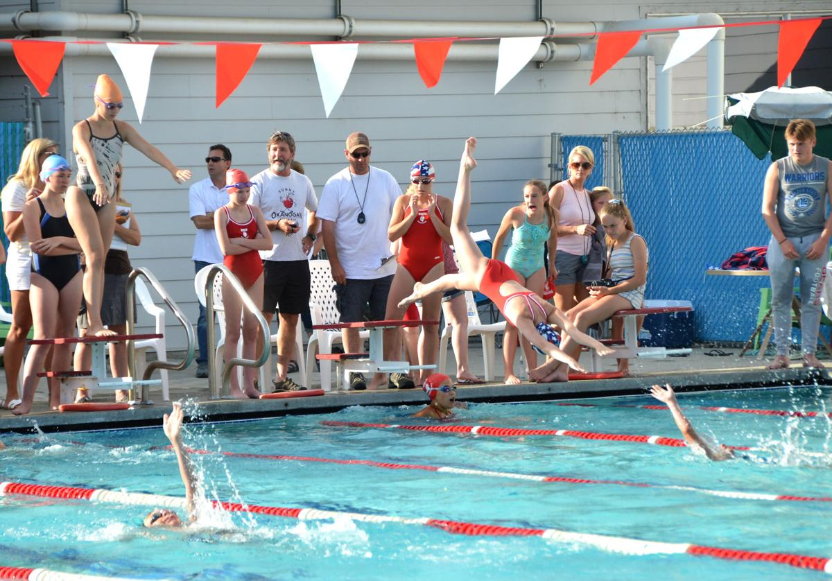 Swimmers dive into Brewster pool in 200-meter medley